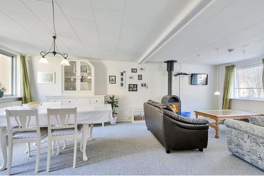 Villa på Søndergade i Egtved - Stue