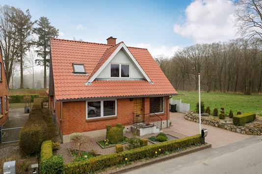 Villa på Ahornvej i Randbøl - Ejendommen