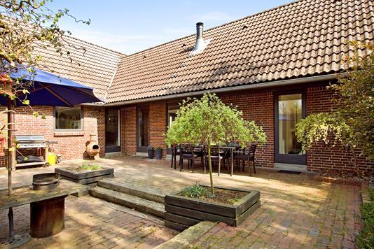 Villa på Johan Skjoldborg Vej i Bredsten - Terrasse