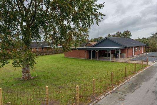 Villa på Mølleparken i Billund - Have