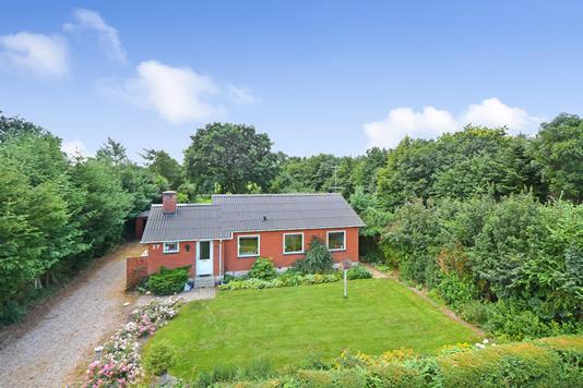 Villa på Løvlundvej i Billund - Ejendommen