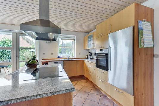 Villa på Bogholdervej i Vorbasse - Køkken
