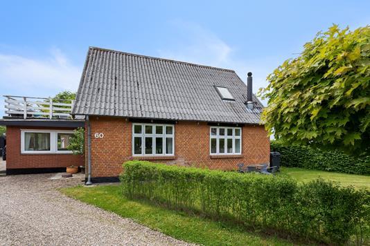 Villa på Østergade i Vorbasse - Facade
