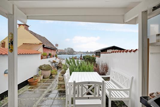 Villa på Fiskergade i Kerteminde - Terrasse