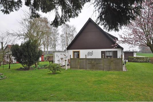 Villa på Stibankevejen i Søllested - Ejendommen