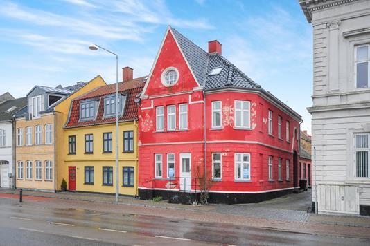 Villa på Havnegade i Nakskov - Ejendommen