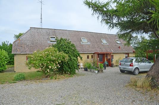 Villa på Langesøvej i Horslunde - Ejendommen