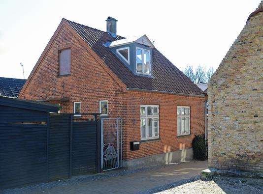Villa på Tolderensstræde i Nakskov - Ejendommen