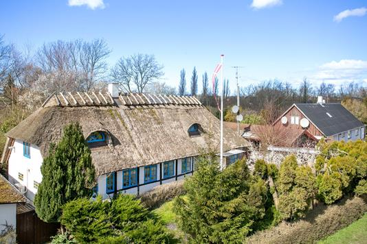Villa på Askøvej i Søllested - Set fra vejen