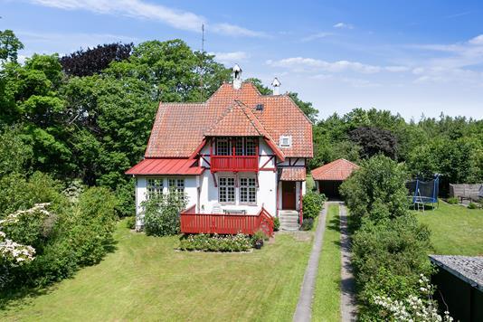 Villa på Krogsbøllevej i Nakskov - Set fra haven