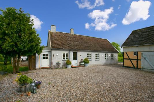 Villa på Søgårdsvej i Herlufmagle - Facade