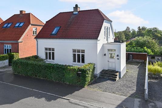 Villa på Kalbyrisvej i Næstved - Facade