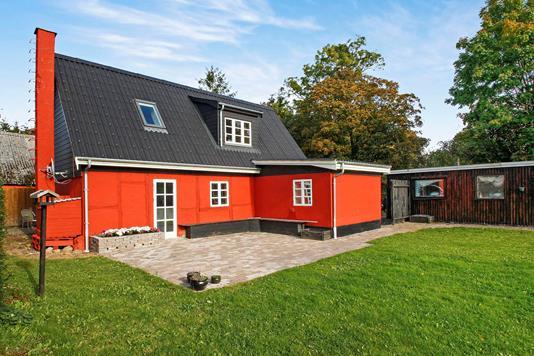 Villa på Skovvej i Herlufmagle - Ejendommen