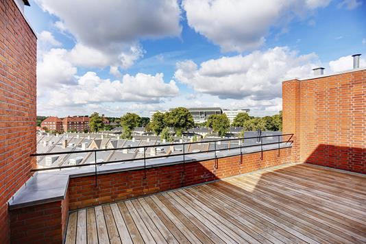 Ejerlejlighed på Østerbrogade i København Ø - Terrasse
