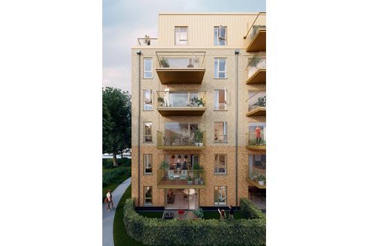 Ejerlejlighed på Trikotageparken bygning A i København Ø - Ejendommen