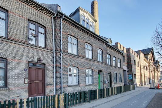 Villa på Øster Allé i København Ø - Ejendommen
