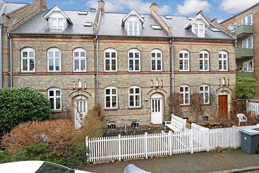 Villa på H.C. Lumbyes Gade i København Ø - Ejendommen