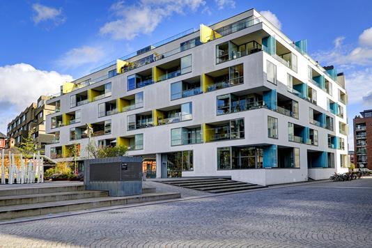 Ejerlejlighed på Amerika Plads i København Ø - Ejendommen