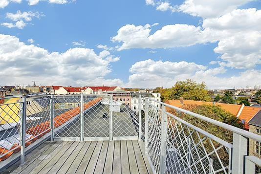 Ejerlejlighed på Holsteinsgade i København Ø - Terrasse