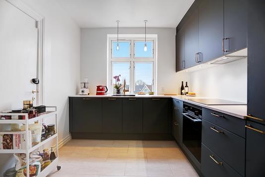 Ejerlejlighed på Nøkkerosevej i København NV - Køkken