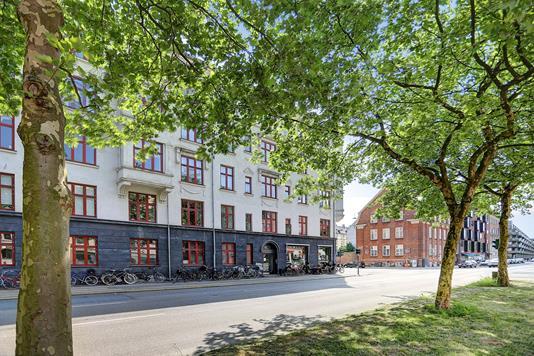 Ejerlejlighed på Strandboulevarden i København Ø - Område