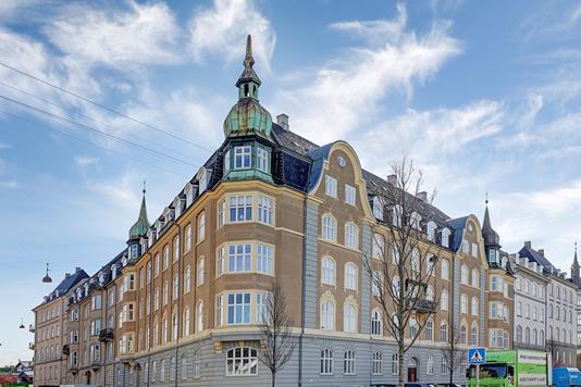Ejerlejlighed på Kristianiagade i København Ø - Ejendommen