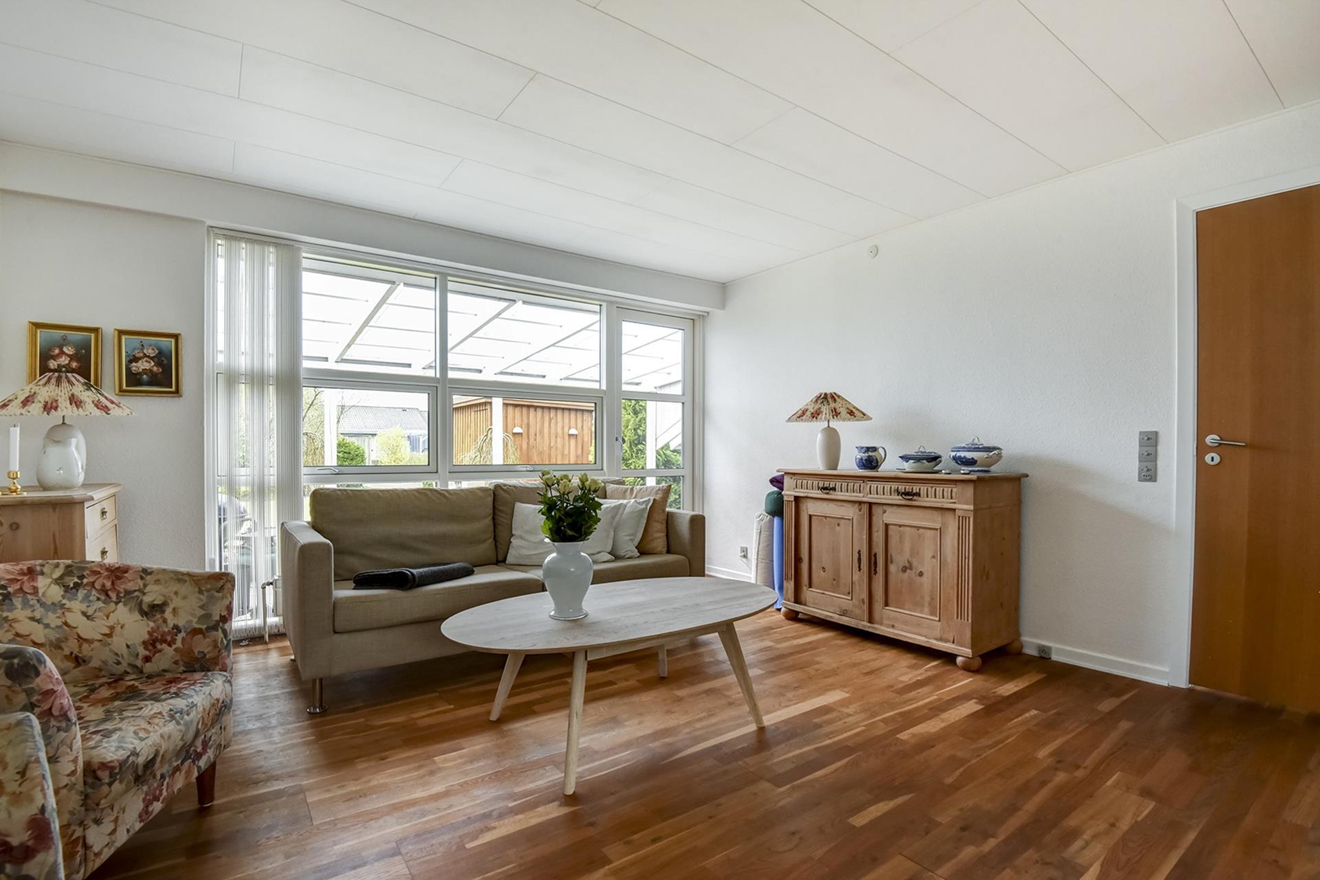 Rækkehus på Sandknøsen i Odense SV - Stue