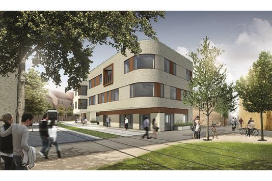 Ejerlejlighed på Carl Nielsens Kvarter i Odense C - Facade
