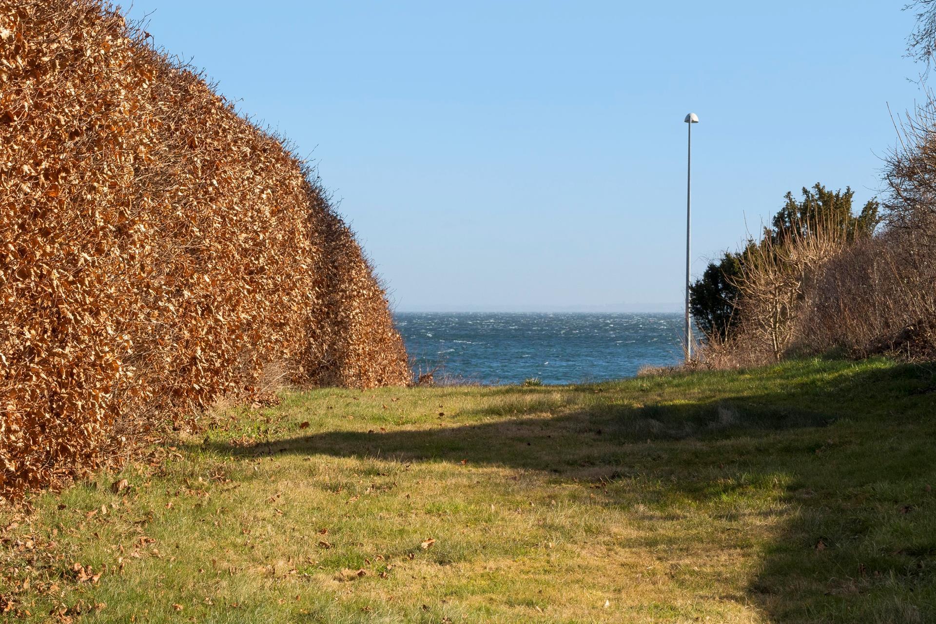 Helårsgrund på Rungsted Strandvej i Rungsted Kyst - Grund