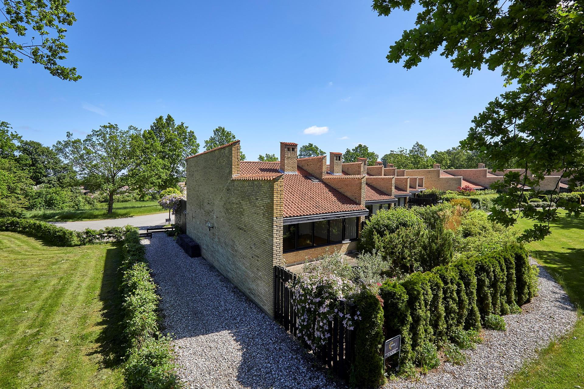 Rækkehus på Kirstineparken i Hørsholm - Ejendommen