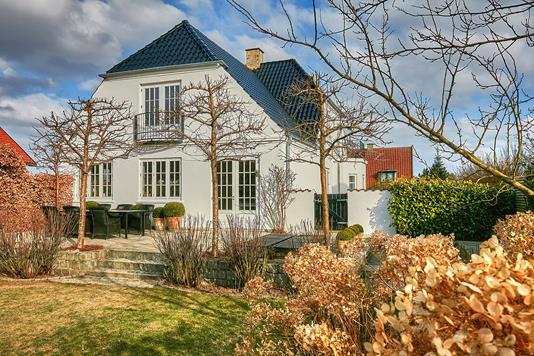 Villa på Skovvænget i Hørsholm - Ejendommen