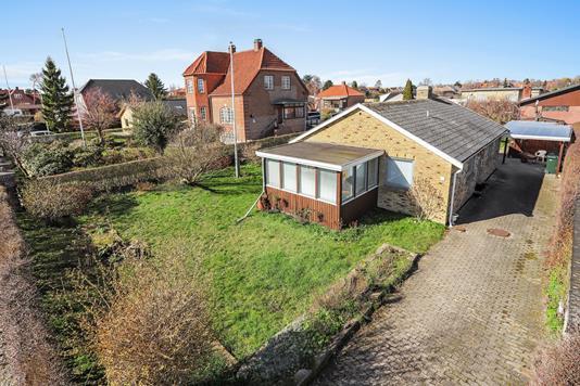 Villa på Ejby Alle i Hvidovre - Mastefoto