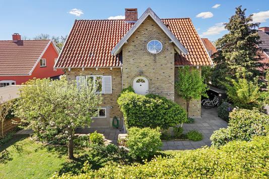 Villa på Birkagervej i Vanløse - Mastefoto