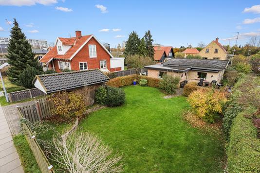 Villa på Hectors Alle i Hvidovre - Mastefoto