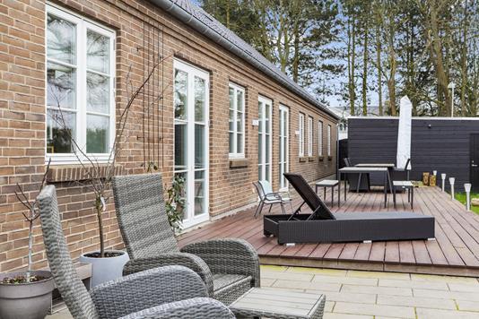 Villa på Stavnsbjergvej i Hvidovre - Terrasse