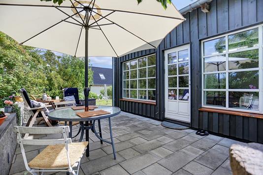 Villa på Nejedevej i Hillerød - Terrasse