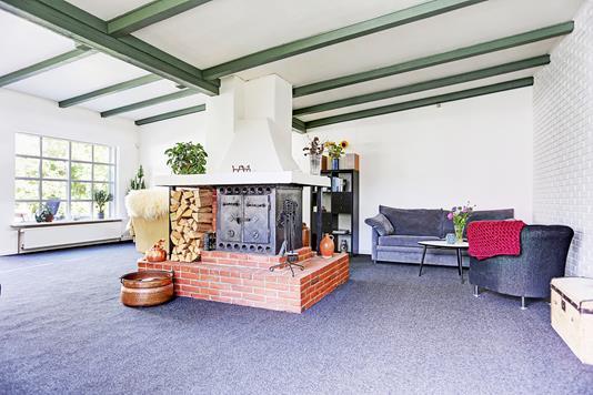 Villa på Nejedevej i Hillerød - Stue