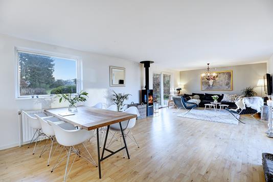 Villa på Pilevej i Fredensborg - Stue