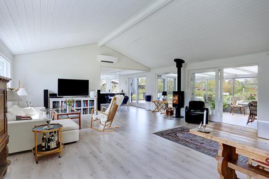 Villa på Kromarken i Fredensborg - Stue