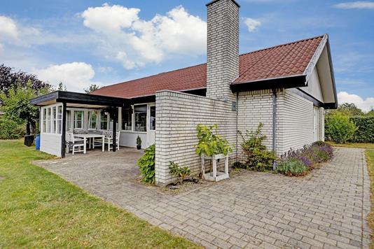 Villa på Slotsherrensvej i Hillerød - Terrasse