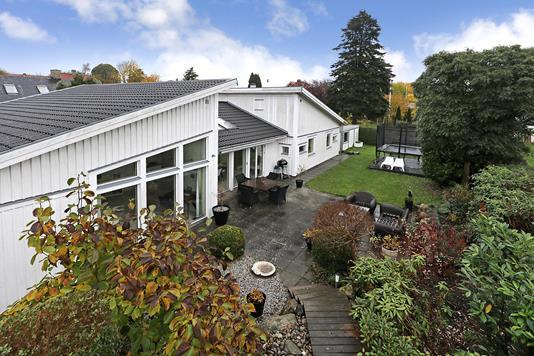 Villa på Sportsvej i Fredensborg - Terrasse