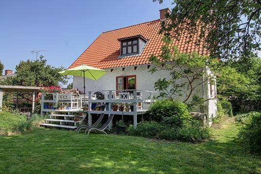 Villa på Horsevænget i Hillerød - Terrasse