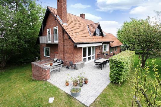 Villa på Femvej i Allerød - Terrasse