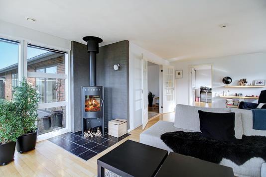Villa på Hjortevænget i Allerød - Stue
