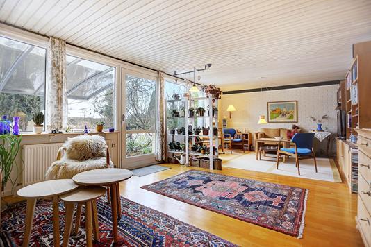 Villa på Stærevang i Allerød - Stue