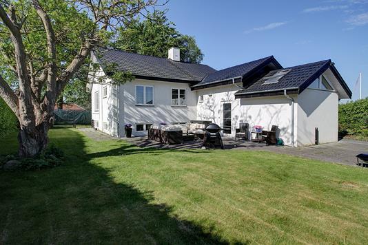 Villa på Brislingvej i Allerød - Terrasse