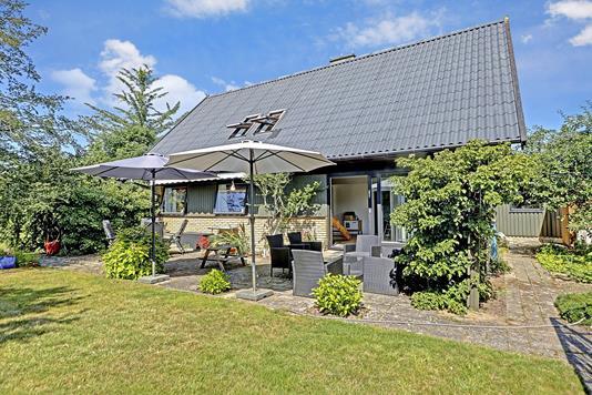 Villa på Laksevej i Allerød - Terrasse