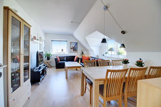 Ejerlejlighed på Gl Lyngevej i Allerød - Stue