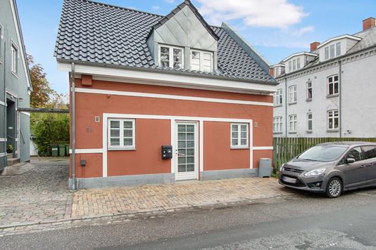 Villa på Jagtvej i Odense C - Ejendommen
