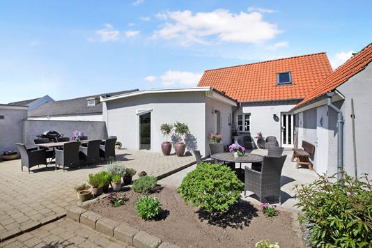 Villa på Svendborgvej i Ullerslev - Terrasse